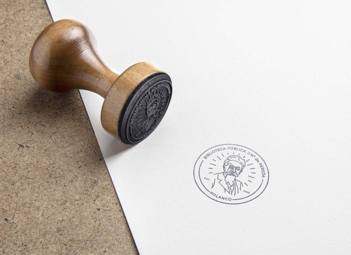 BAJAJose maría pereda sello