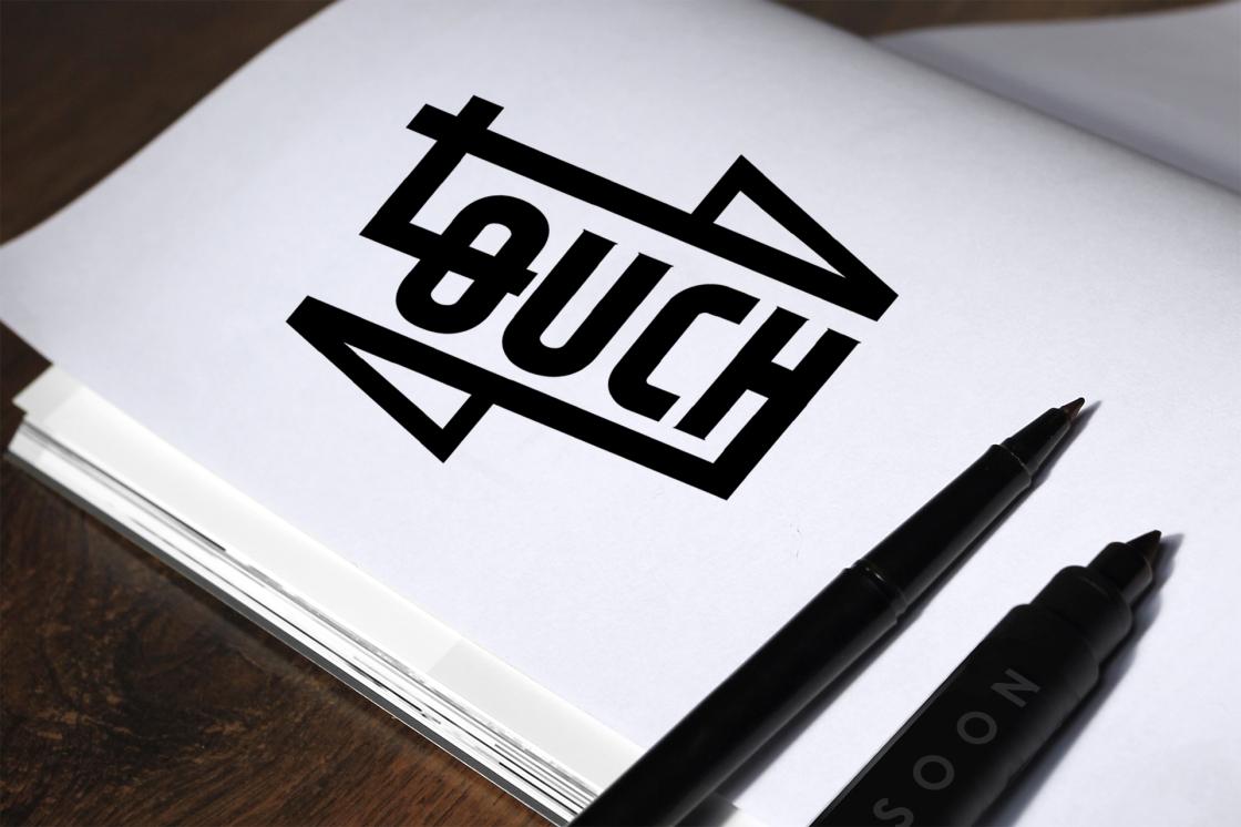 logotipo touch fotografía